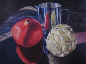 Pomegranate and Artichoke