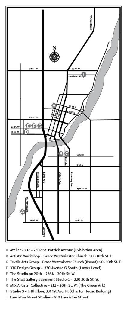 Art Trek 2014_Map